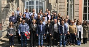 Group photo CROCODILE meeting - Dusseldorf, Germany, May 2019